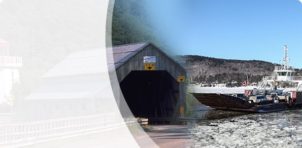 Share your thoughts on a Covered Bridge and River Ferry Strategy