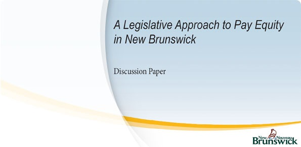 A Legislative Approach to Pay Equity in N.B.