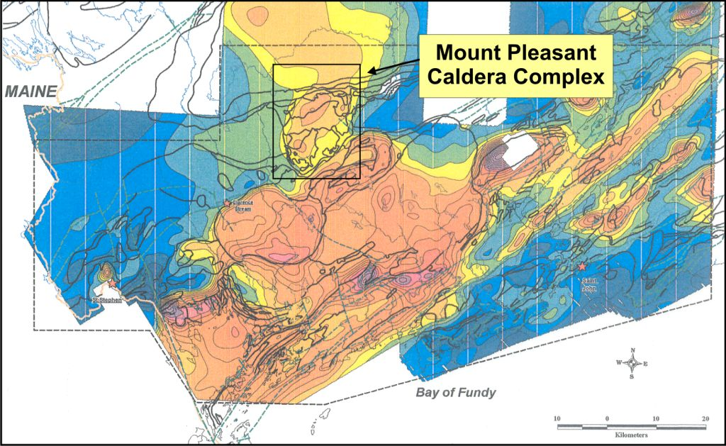 Image result for Mount Pleasant Caldera