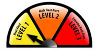 Heat Alert (Level 1) - Yellow