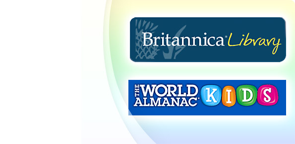 Now available! Britannica and World Almanac <br>for kids!