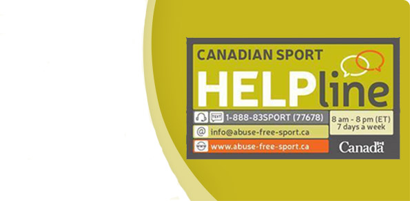 Welcome to the Canadian Sport HELPline