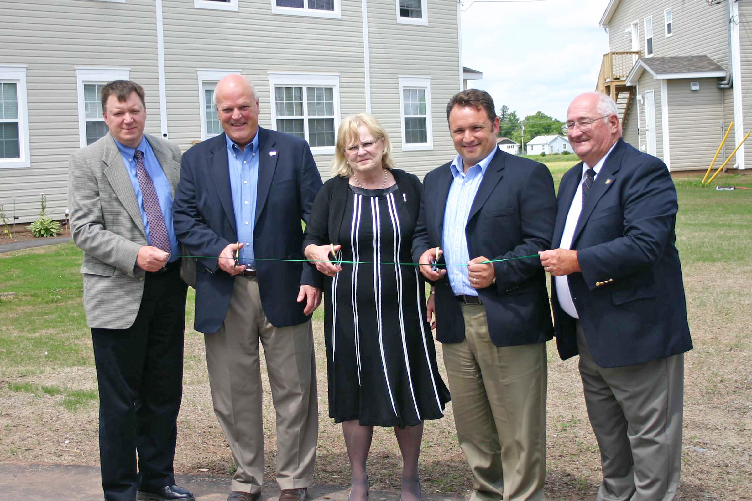 Affordable housing units officially open in sussex for Prestige homes new brunswick
