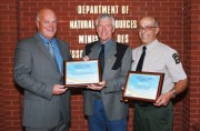 Conservation education instructor awards presented