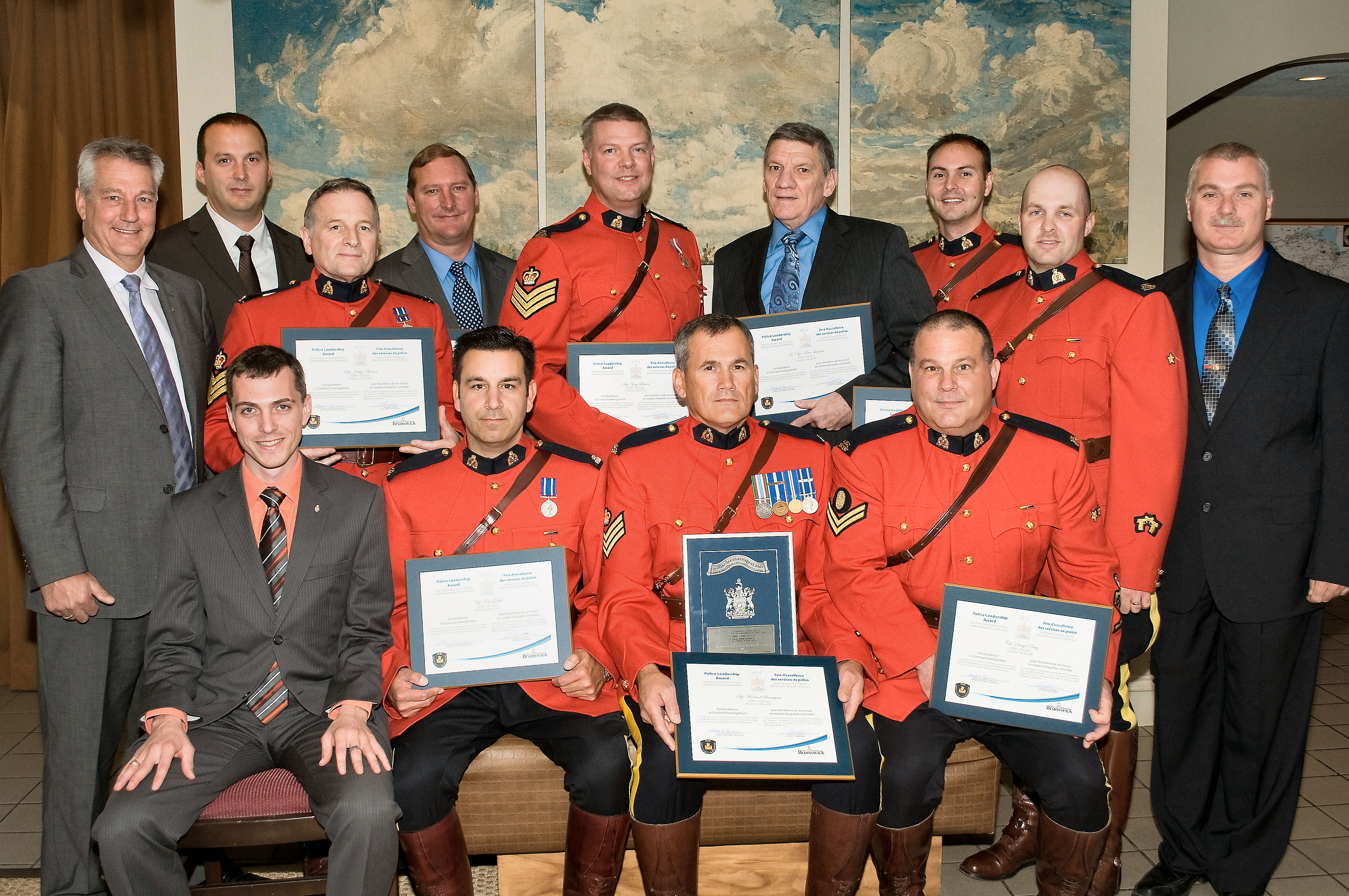 Police Leadership Awards Presented To Rcmp Officers And