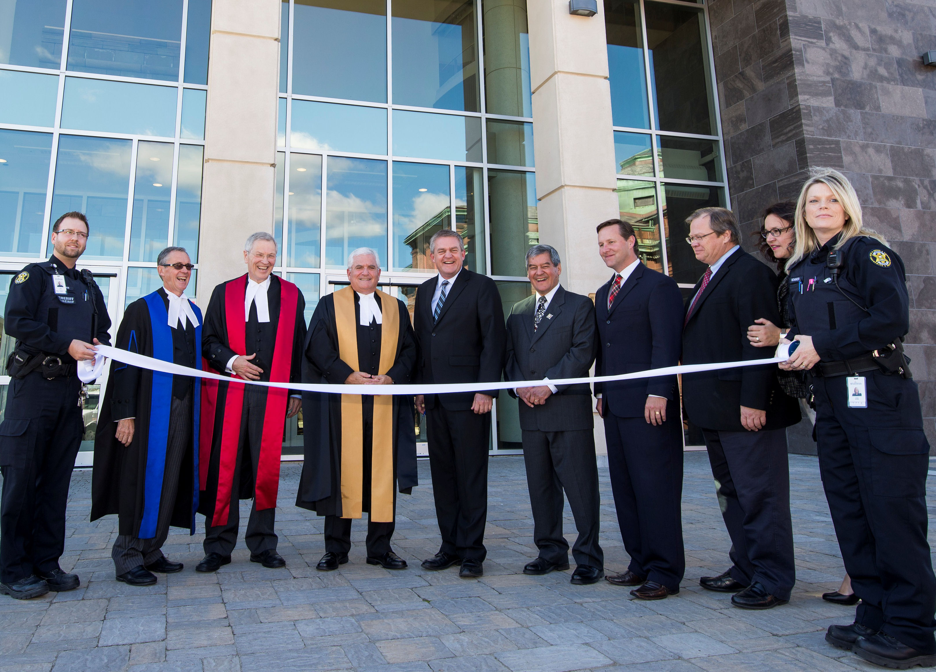 Saint John Courts has officially opened