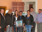Paintings by Tobique First Nation artist on display in Saint John and Moncton hospitals