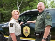 New uniforms for conservation officers and forest rangers