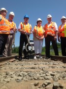 Work on CN's Newcastle Subdivision underway