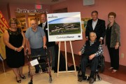 Sod turning for addition to Woodstock nursing home