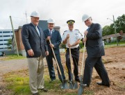 Sod-turning marks construction of RCMP facility in Moncton