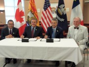 Signing of a cooperation agreement between New Brunswick and Louisiana