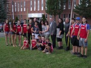 Provincial government invests in athletics track at Polyvalente A.-J.-Savoie