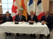 Renewal of cooperation agreement between New Brunswick and the Département de la Vienne