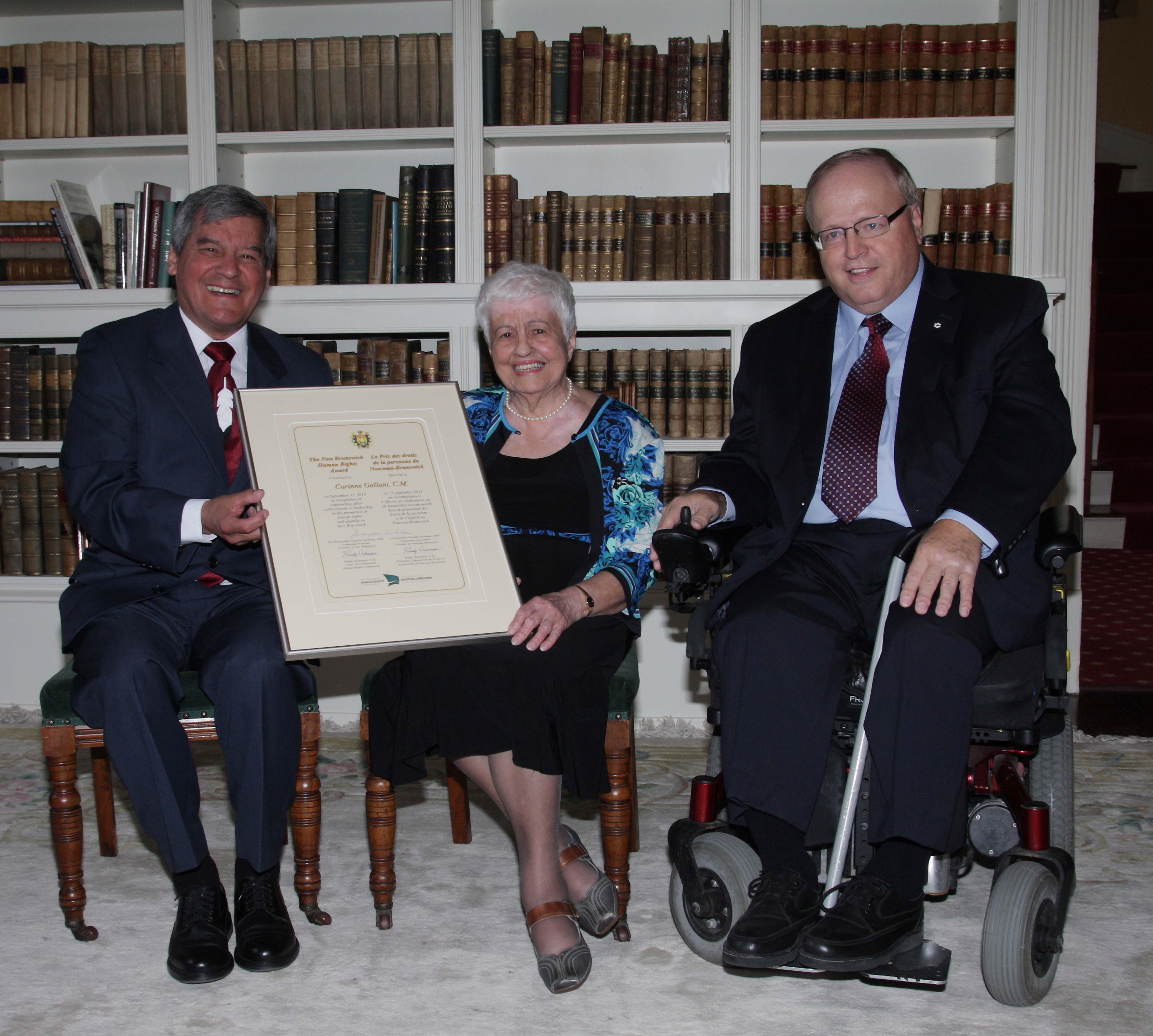 Remise du Prix de droits de la personne 2014
