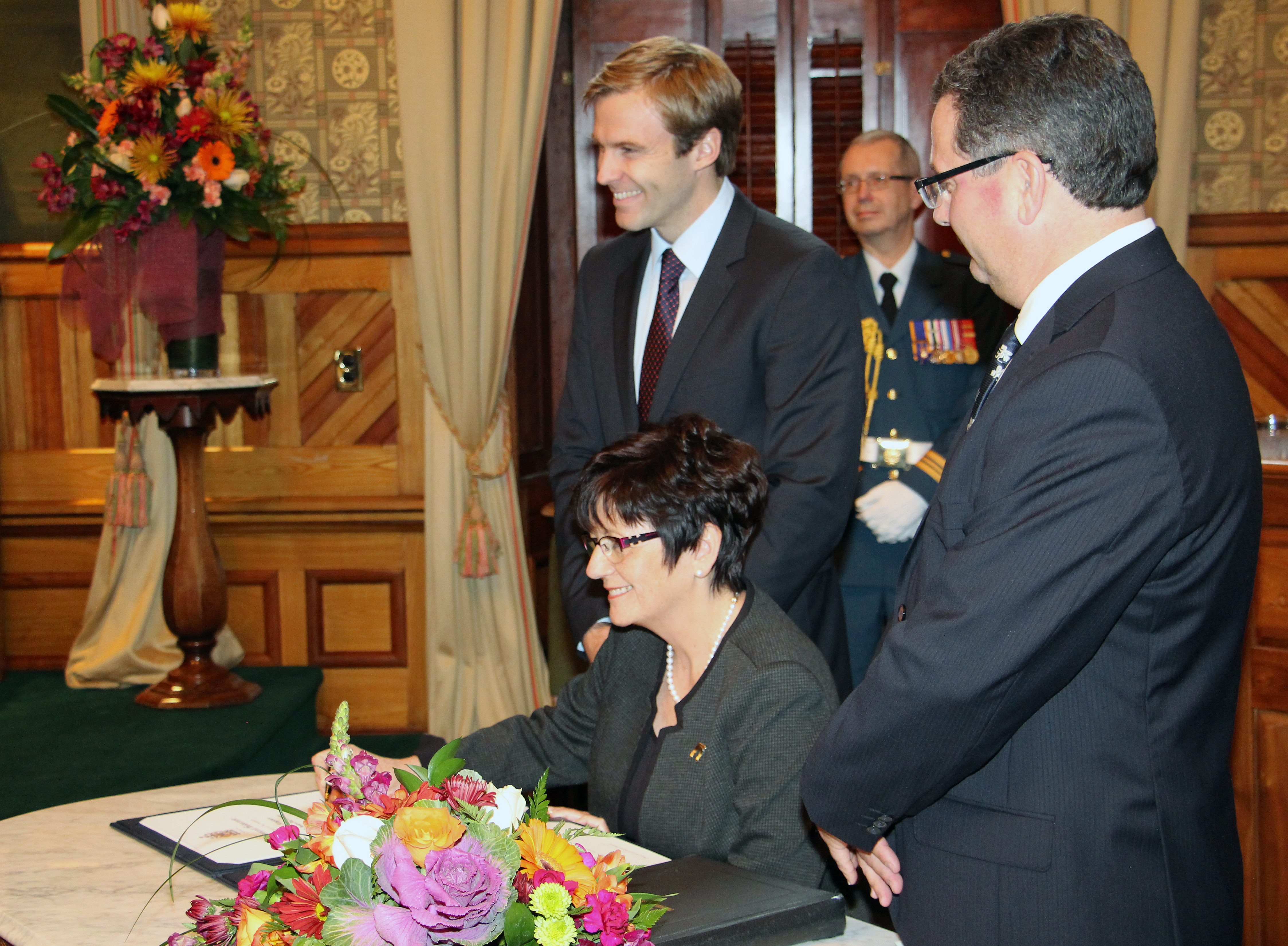 New lieutenant-governor installed