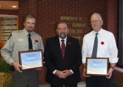 Conservation education instructor awards 2014
