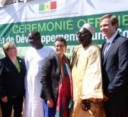 Inauguration of a CCNB environmental project in Senegal