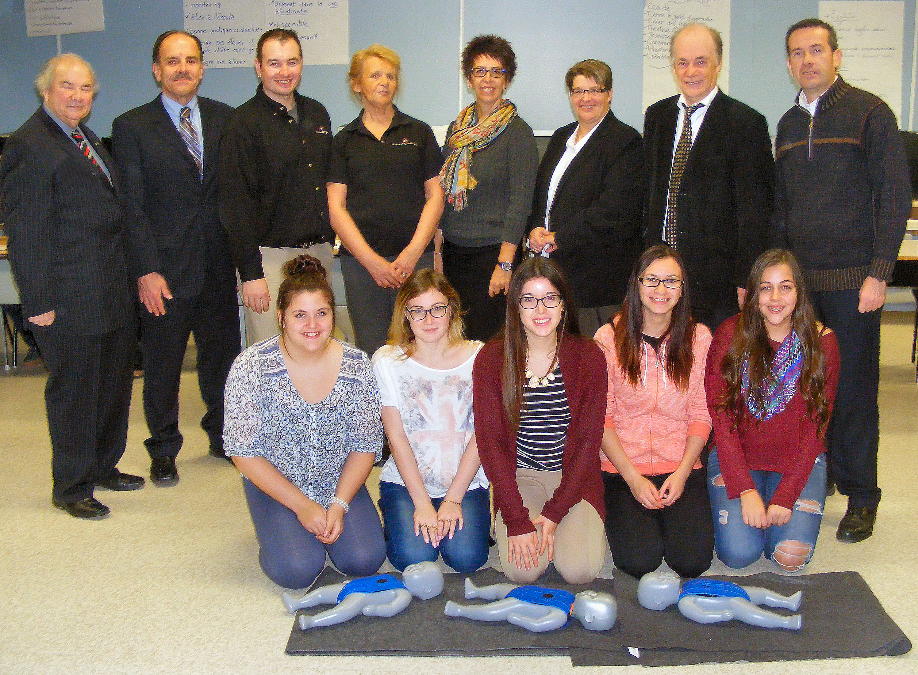 St. John Ambulance offers free first aid, CPR training to Grade 10 students