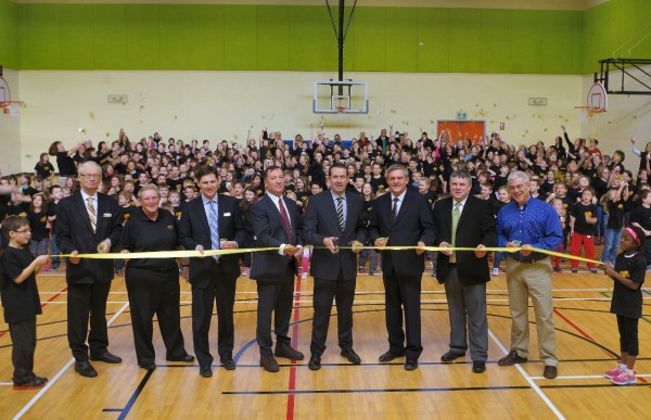 official opening of townsview school