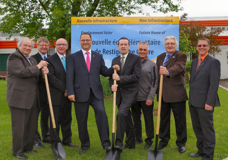 Début de la construction d'une nouvelle école pour Restigouche-Centre