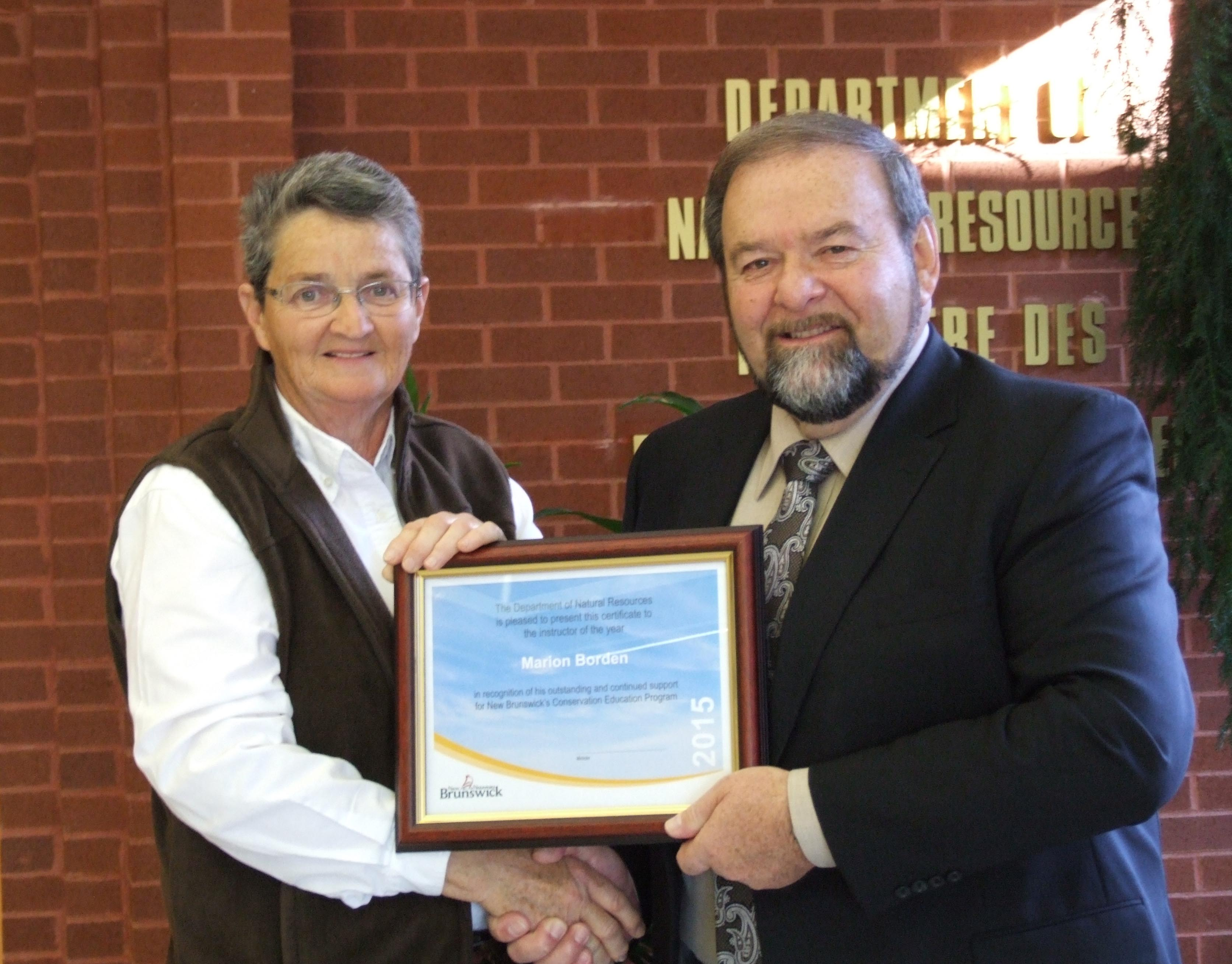 Volunteer Instructor of the Year Award