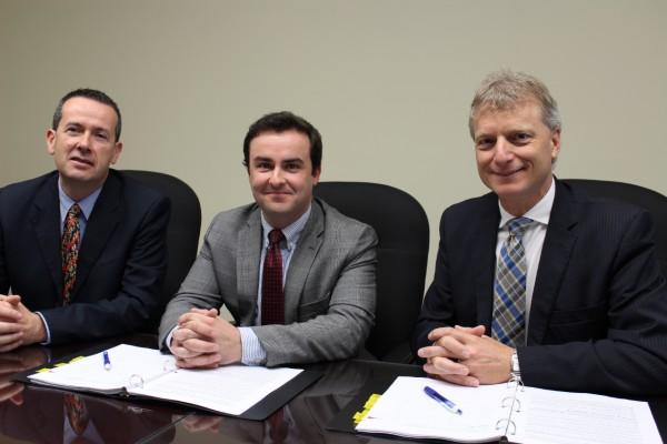 signature d une convention collective avec les avocats de la couronne