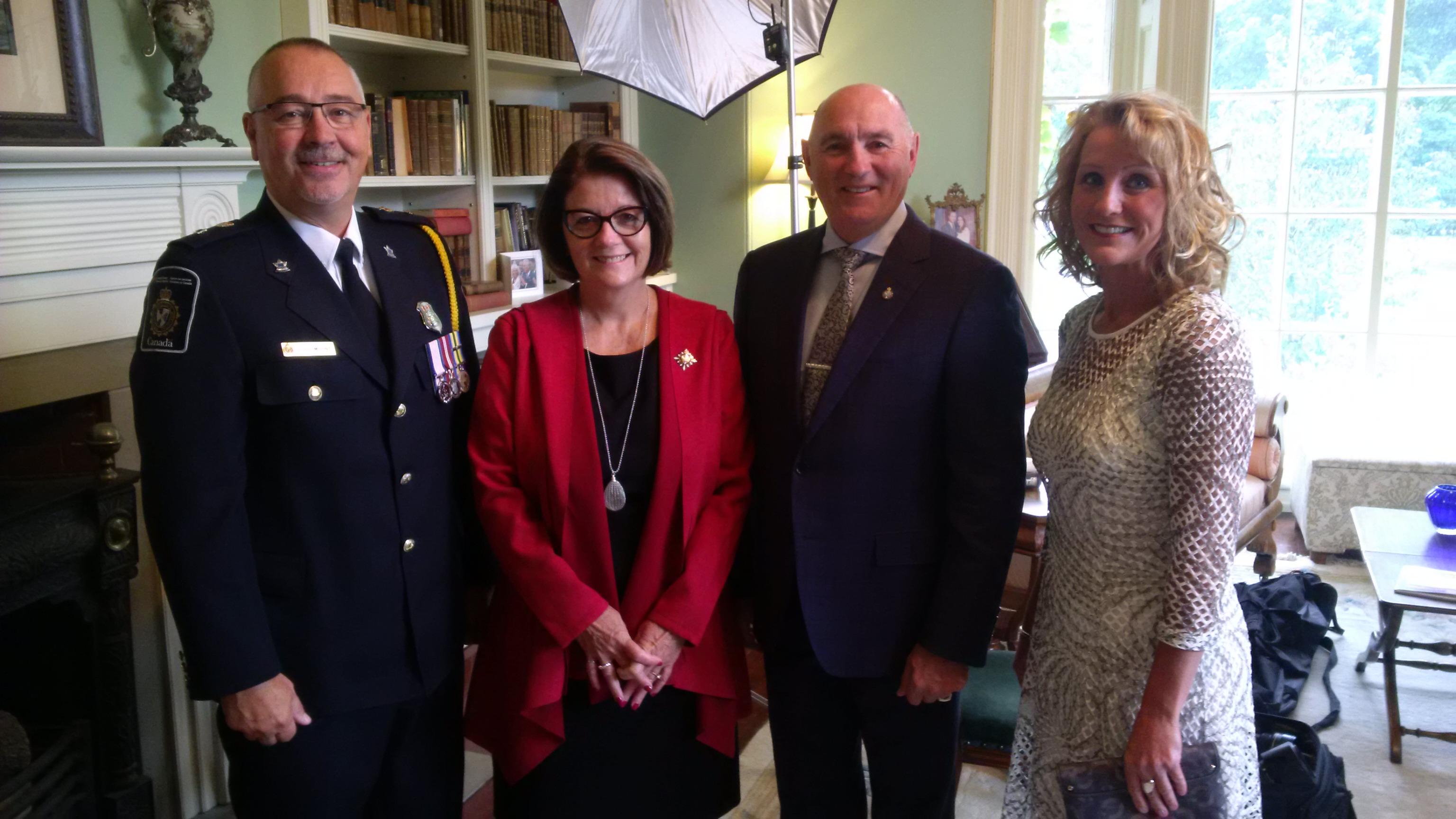 La lieutenante-gouverneure rend hommage à l