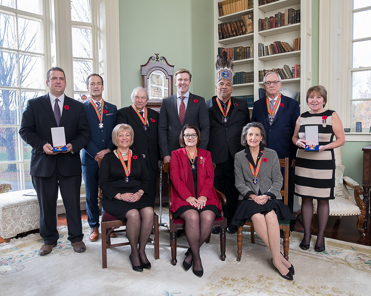New members invested into the Order of New Brunswick