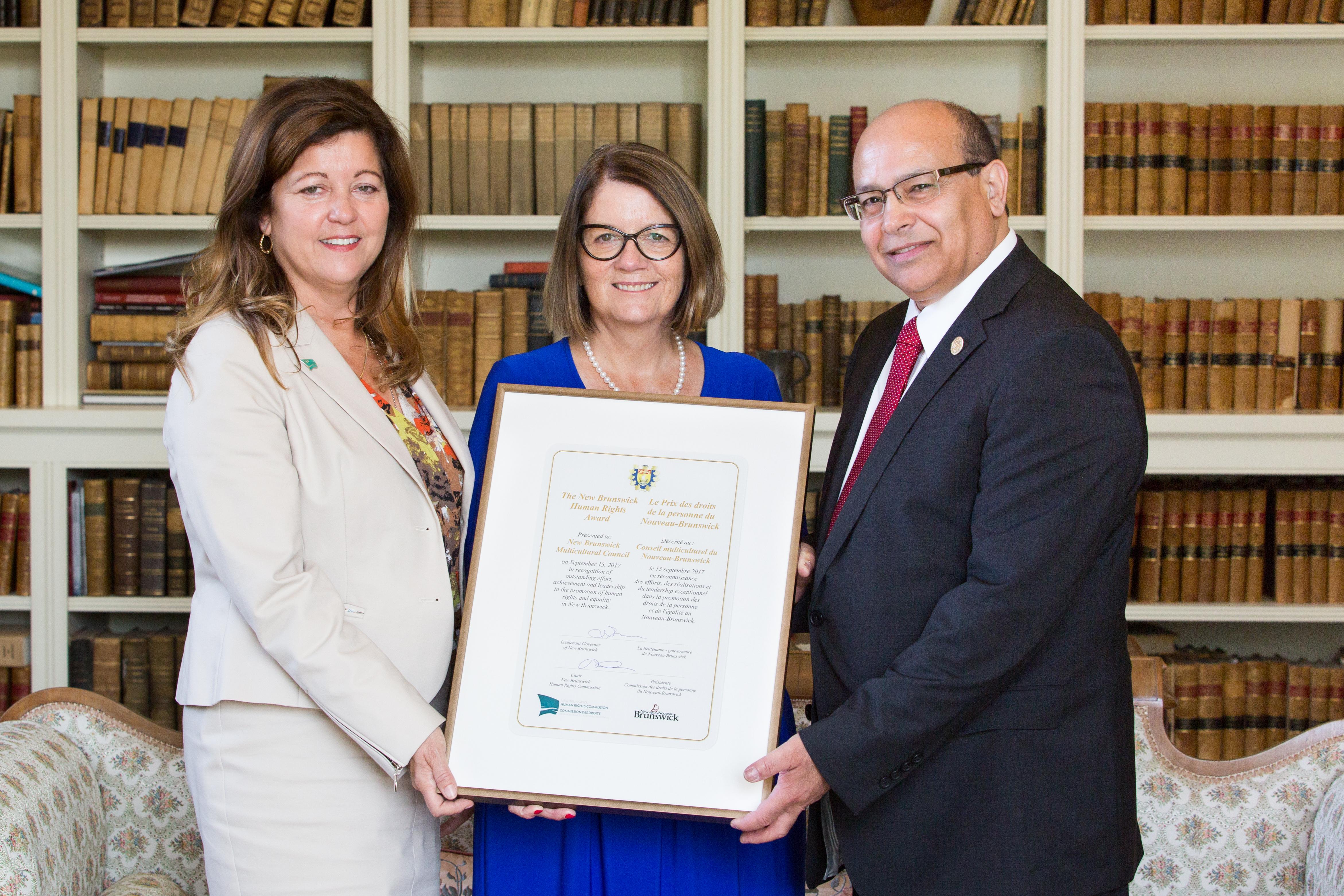 Remise du Prix des droits de la personne 2017