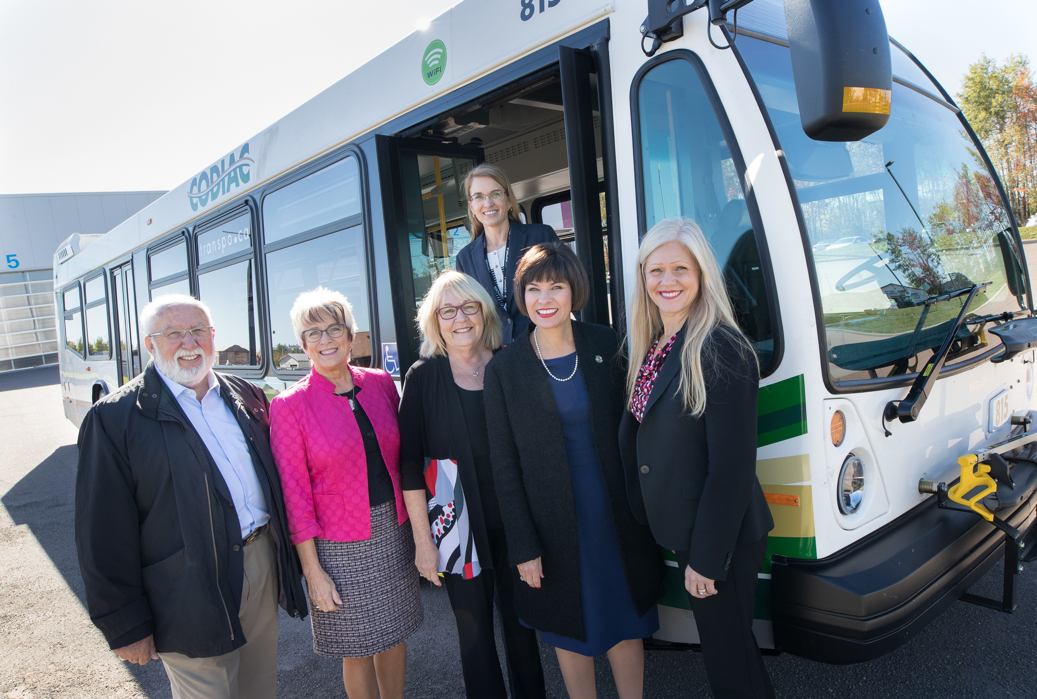 Codiac Transpo receives new buses thanks to federal and provincial