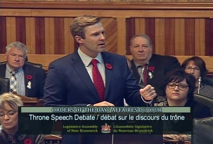 Le premier ministre clôt le débat sur le discours du Trône