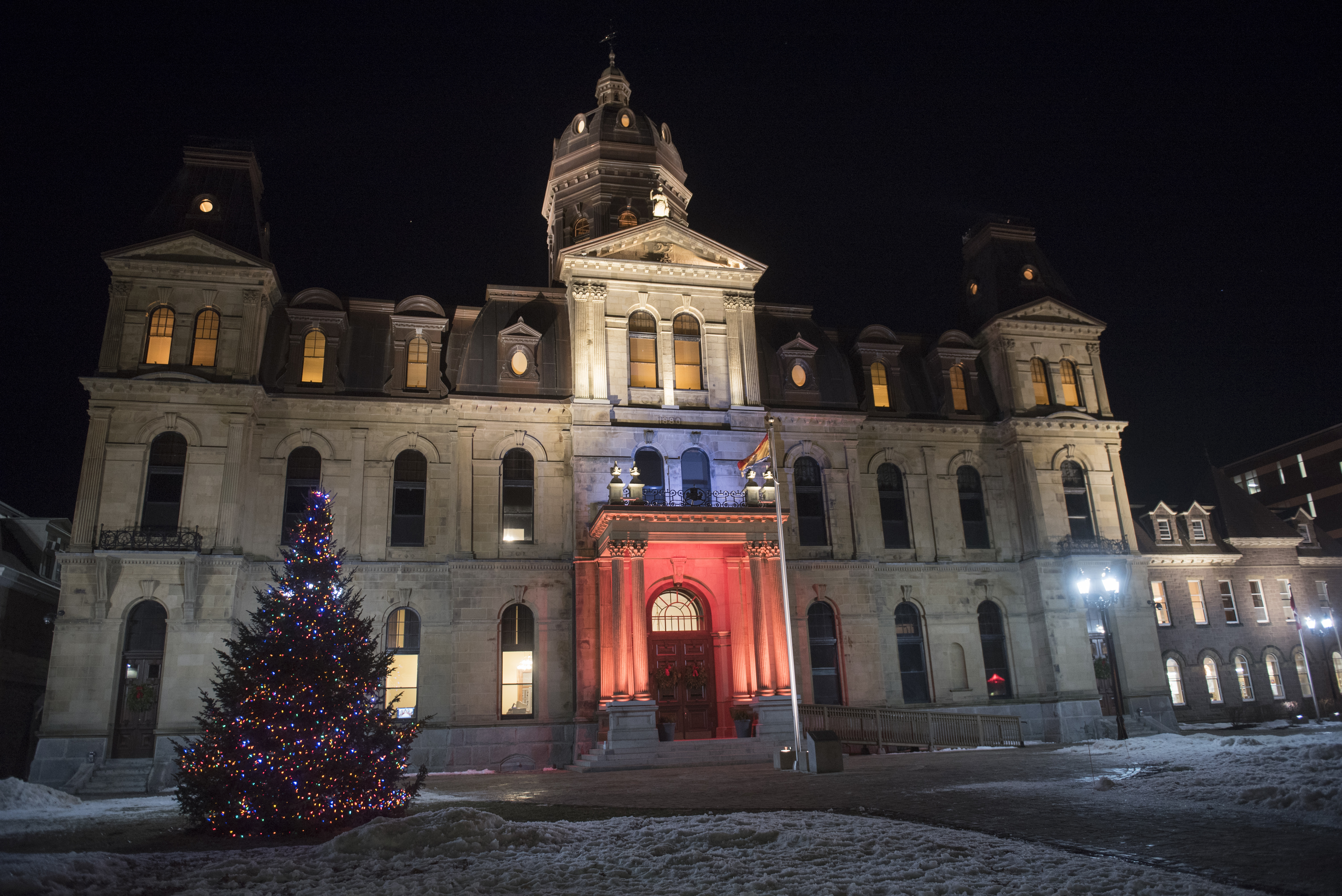 Christmas tree lighting ceremony to be held at legislative assembly